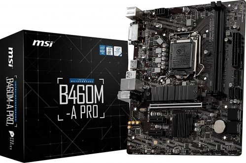 MSI B460M-A PRO - Best Budget B460 For I9 10900K