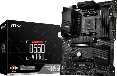 MSI B550-A PRO ProSeries